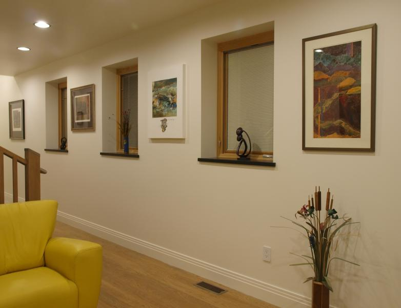 Living Room and Entryway - Brand New Downtown Holistic Green Home with Garage - Salt Lake City - rentals