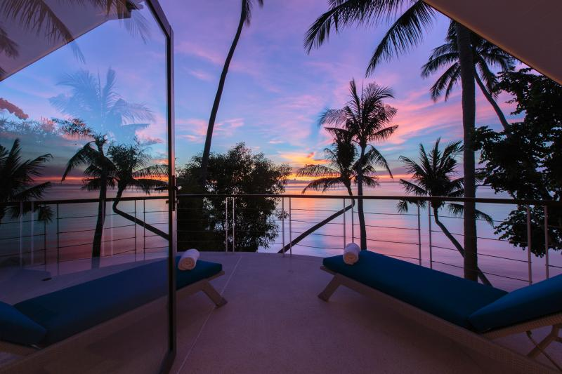 Amazing sunset and sea views from the loft - The Beach House: Magnificent Sunset & Sea Views - Koh Samui - rentals