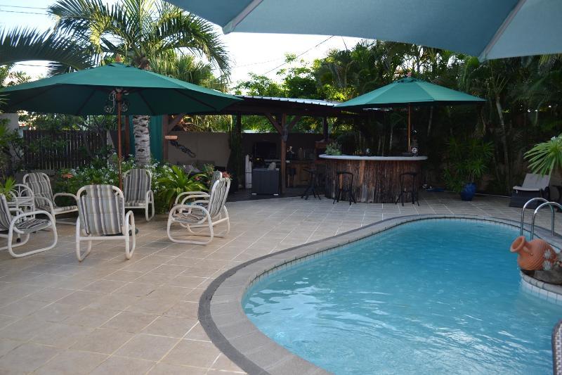 the terrace - Superior room at Paradise Nest - Tamarin - rentals