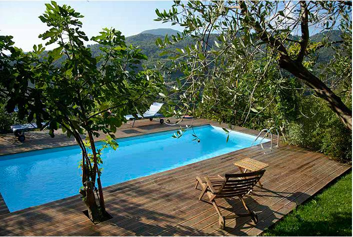 Lovely House with Cute Pool - Image 1 - Castiglione Chiavarese - rentals