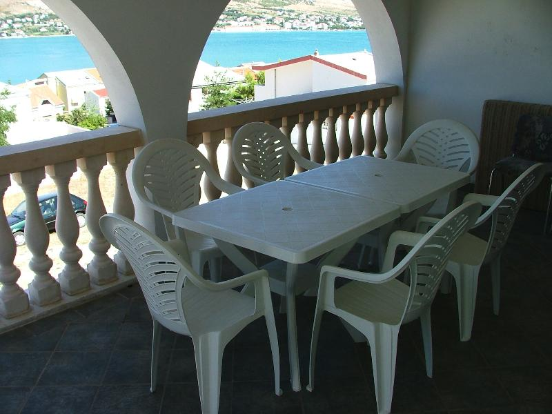 "2. ""I & I"" Adriatic coast, Island of Pag, Nice app - Image 1 - Pag - rentals"