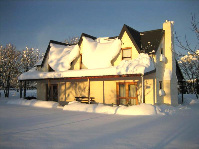 Outside Snowing - 2 Bedroom Luxury Cottage, Private Setting Methven - Methven - rentals