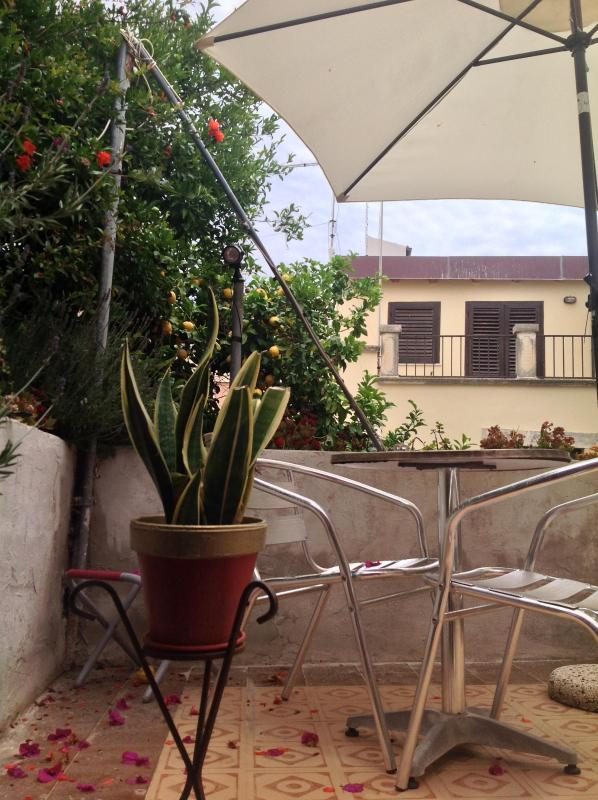 Little Garden/Terrace - Maniace Studio - MedFlats Ortigia / Siracusa - Syracuse - rentals