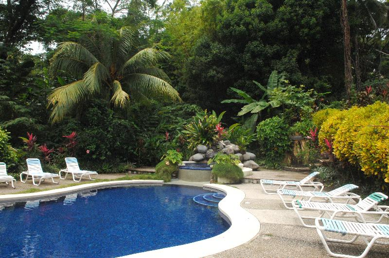 pool and chairs - Adventure Lodge in the heart of the Rainforest - Mal Pais - rentals