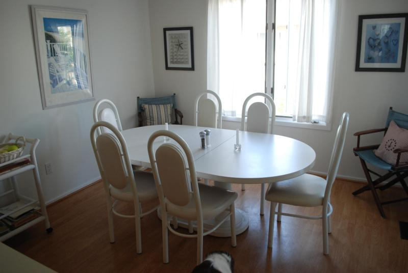 Dining Room - With ceiling fan! - Only 2 Weeks Left! Beach Bliss in Brigantine, NJ - Brigantine - rentals