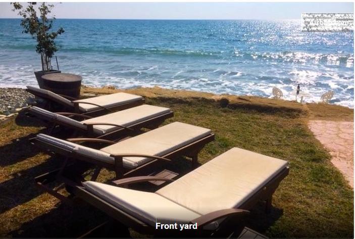 Front Yard - Paradise Beach Villa - Larnaca District - rentals