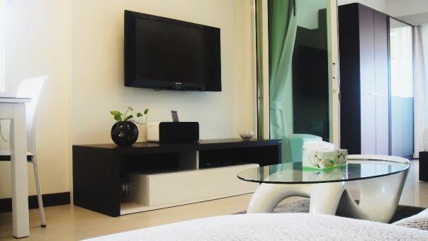 42 inch flat-screen TV - Stylish Condo In Centre Of Samui Only 16k Thb Per/month! - Sao Hai - rentals
