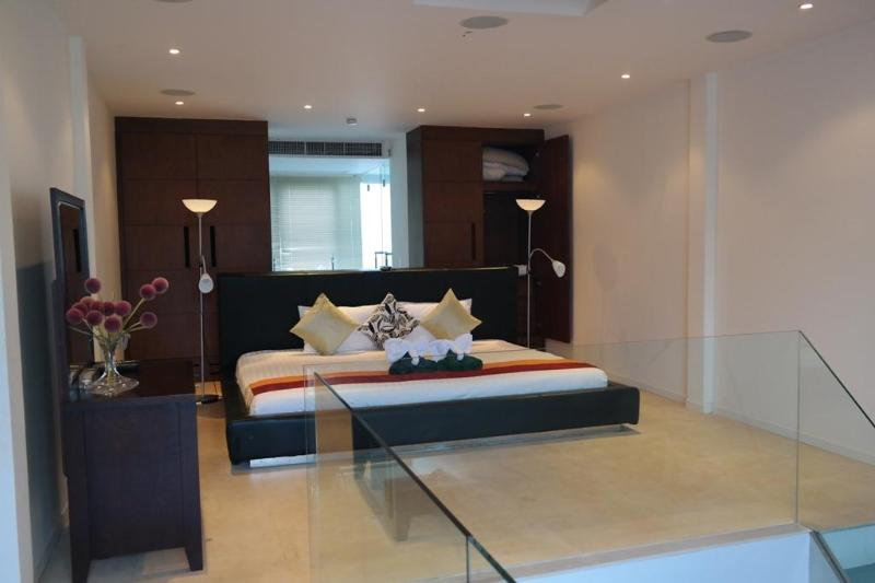 Master Bedroom - Surin Beach-Pent House 2 Bed 100 Mtrs to Bch T3 - Sao Hai - rentals