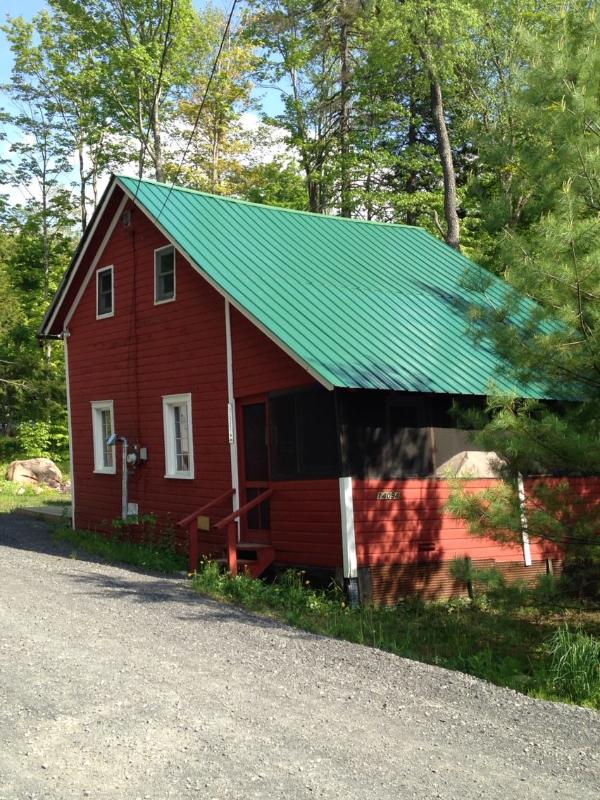 View from the road - Adirondack Cottage- 10 Miles south of Old Forge - Old Forge - rentals