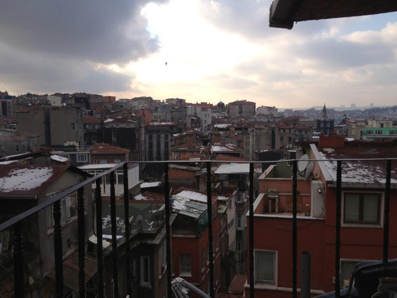 View from the Balcony - (6) Cosy Loft with a Terrace - Istanbul - rentals