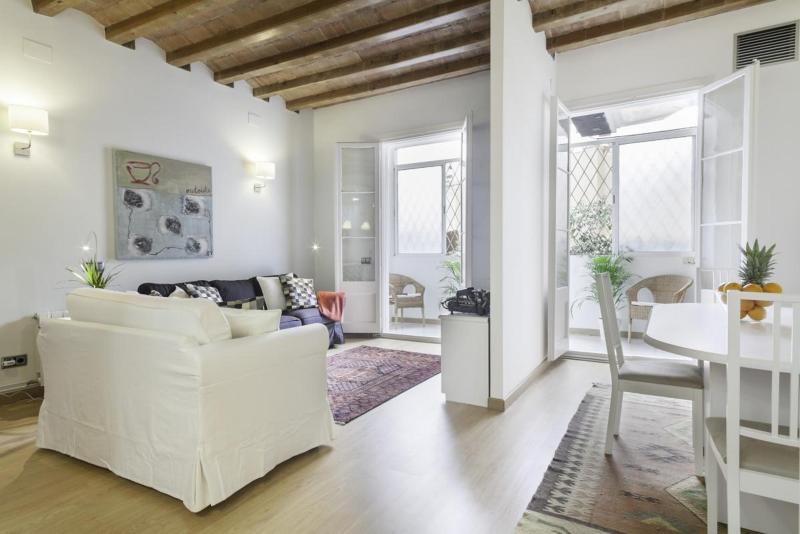 Living room - Ramblas Charm - Barcelona - rentals
