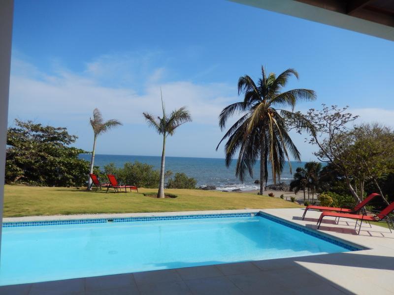 New, Over The Top Luxury Ocean Front Home - Image 1 - El Cope - rentals