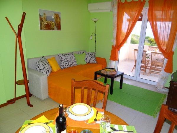 DINING & LIVING AREA FIRST FLOOR - villa orange - Budva - rentals