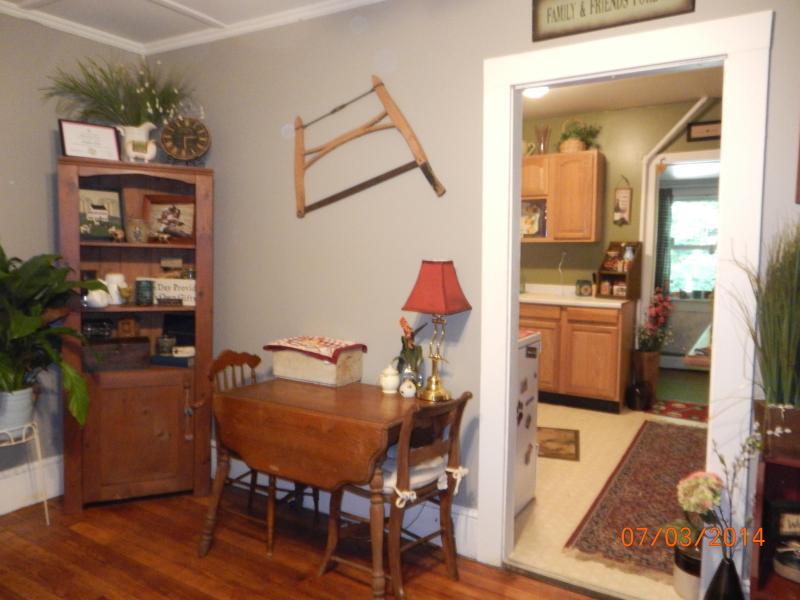 dining room/kitchen - Apartment walking distance to Mass MoCa!! - North Adams - rentals