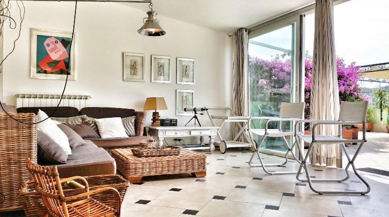 Living - Trevi-Outstanding apartment with big terrace - Santa Margherita Ligure - rentals