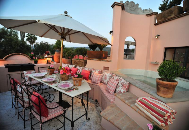 Terrace - Stunning Home in San Miguel De Allende, Mexico - San Miguel de Allende - rentals