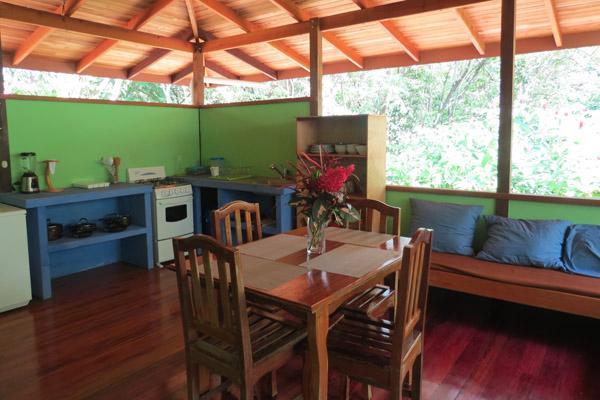 Main Room/Living area of Casa Titi - Casa Titi @ Cabinas Ola Mar - Pejibaye - rentals