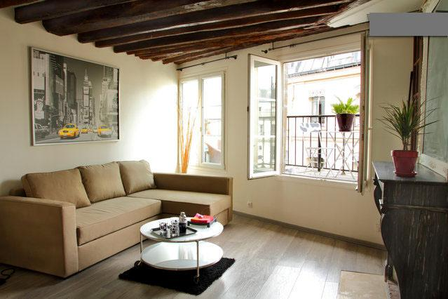 Beautiful studio 36 m2 + beautiful sunny terrace - Image 1 - Paris - rentals