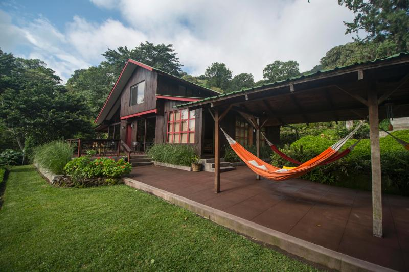 Exterior main house - Private estate in Matagalpa cloud forest - Matagalpa - rentals