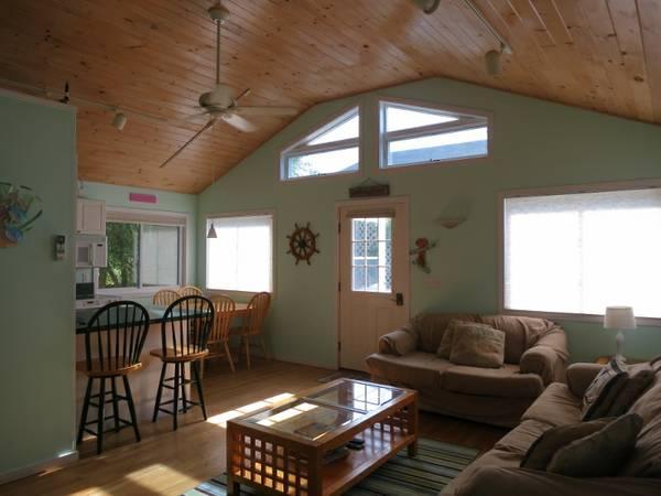 Living Room - Kismet Fire Island - Lovely  beach house - Kismet - rentals