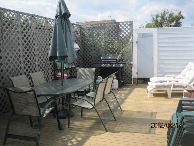Large private back deck and outdoor shower - Adorable home with Large PRIVATE deck- Fire Island - Kismet - rentals