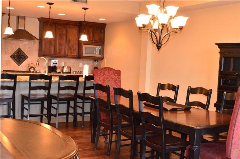 Dining Room - Canyons, Hyatt Escala 3.5 Bedroom/3.5 Bath Duplex Penthouse, Best Rate - Park City - rentals