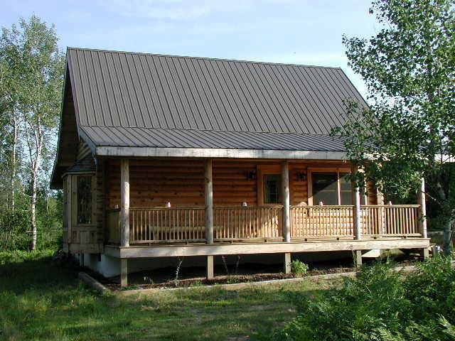 Front of Home - Cracklewood Cabins - Log Home Retreat in Mancelona - Mancelona - rentals