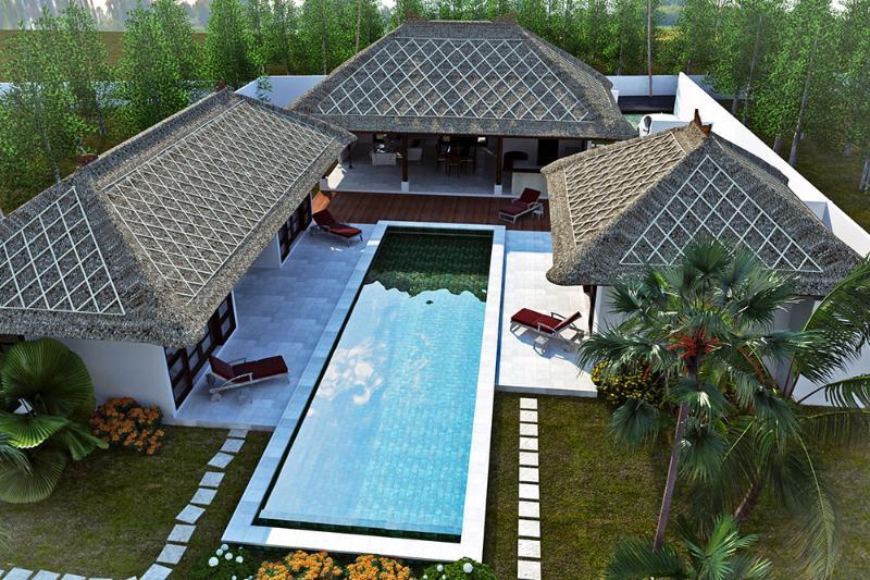 Villa 340m2 piscine 16X4 - Beautiful Villa 4 bedrooms with  big swimming pool - Ungasan - rentals