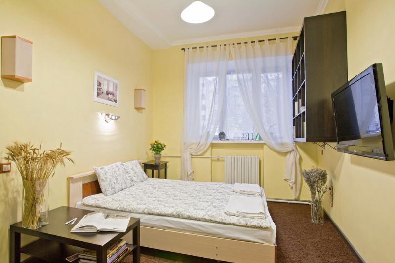 Bedroom - Apartment Karl Marx 21a-1 - Minsk - rentals