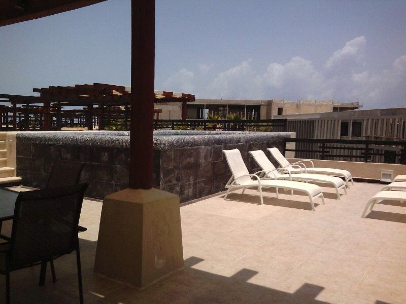 Rooftop with private Plunge Pool - Aldea Thai Penthouse PH317 Luxory 3BR 3 Bath - Playa del Carmen - rentals