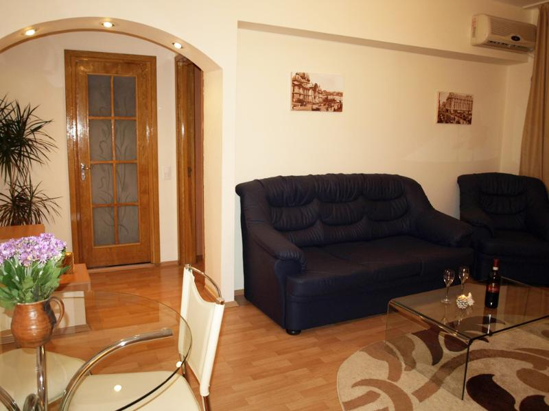Leonidas - living room - Alia Accommodation Bucharest - Bucharest - rentals
