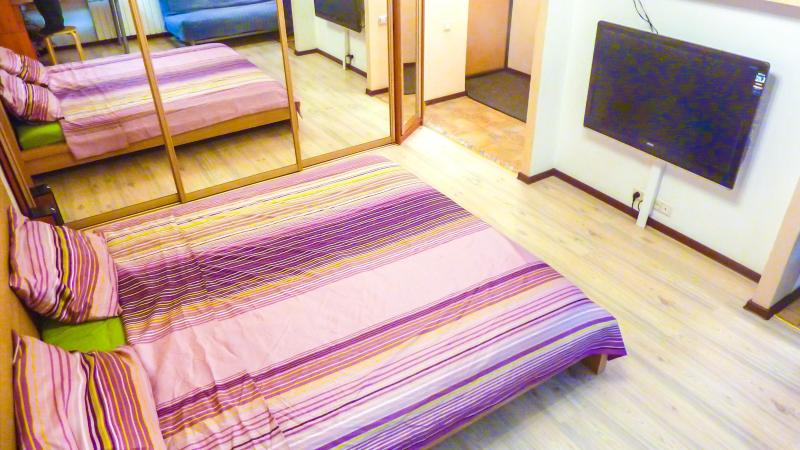 Living area - Cosy studio in Moscow for short-term rent - Moscow - rentals