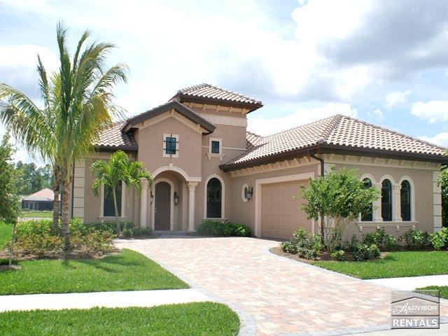 Brand new custom pool home in exclusive Black Bear Ridge- 60 day minimum - Image 1 - Naples - rentals