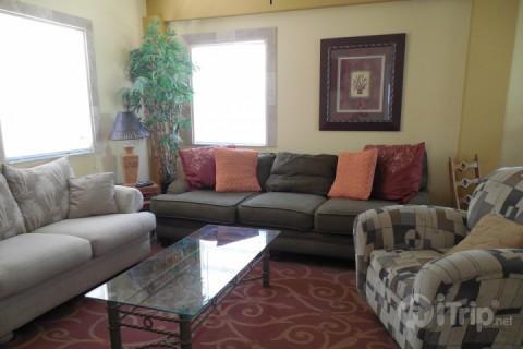 Living Area - The Tarpon Beach Bungalow - Fort Myers Beach - rentals