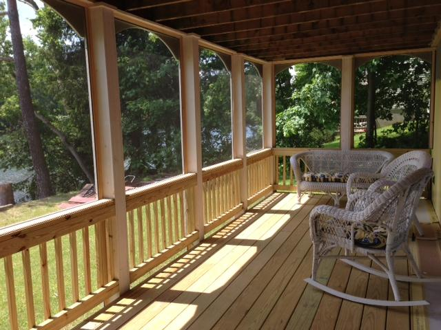 Cozy and Comfortable Screen Porch Facing the Lake - N. Adams/Williamstown Exclusive Lakeside Home - North Adams - rentals