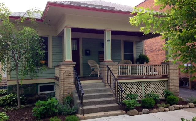 Exterior - Charming Bungalow - 1000 ft. from Broadway! - Saratoga Springs - rentals