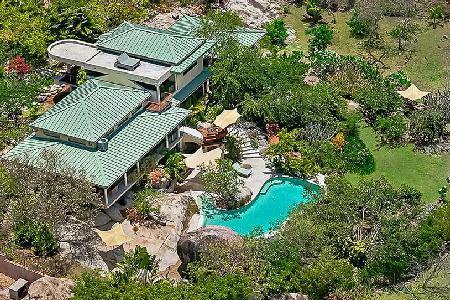 Symbio - Luxury Villa on Virgin Gorda - Artistic Design, Pool, Gardens - Image 1 - Virgin Gorda - rentals