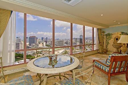 Waikiki Landmark #3503- penthouse with sunset views, prime location near beach - Image 1 - Waikiki - rentals