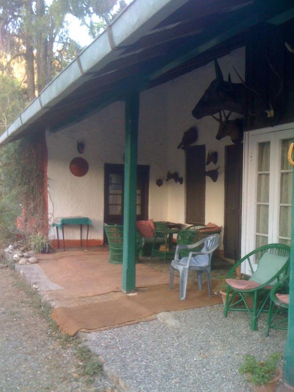 Front verandah, The Retreat - The Retreat, Bhimtal - Bhimtal - rentals