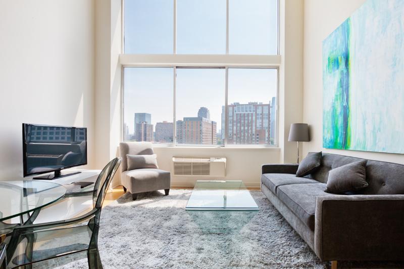 Sky City Liberty view I-1 bedroom Duplex Extra - Image 1 - Jersey City - rentals