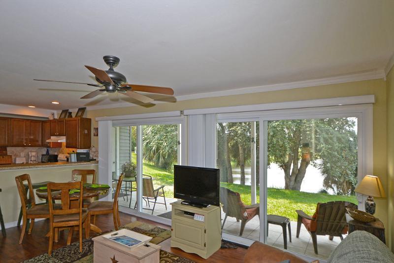 View from Foyer - *LAKE FRONT CONDO*FREE WIFI*BEACH HALF  MILE AWAY - Destin - rentals