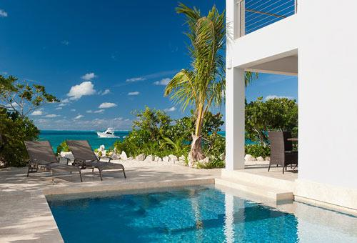 A photograph of Cottages At Grace Bay, Providenciales (Provo), Turks and Caicos Islands, BWI. - Waters Edge Cottage - Providenciales - rentals