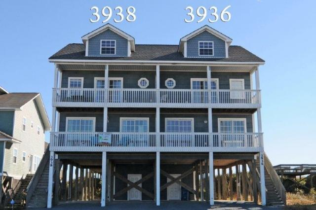 3938 Island Drive - Island Drive 3938 Oceanfront! | Internet, Pet Friendly - North Topsail Beach - rentals