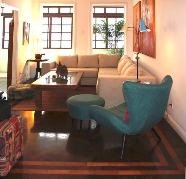 Living Room / Sala de estar - Great 3br apartment 1min walk to Ipanema beach! - Rio de Janeiro - rentals