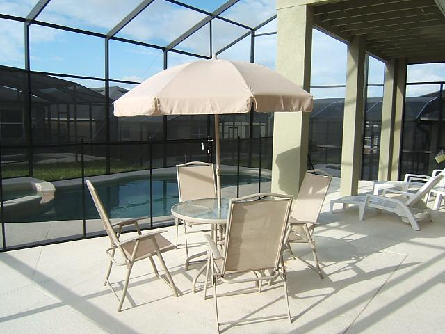 Hardwood Pool-Spa-Internet-Game-Gated 10min Disney - Image 1 - Davenport - rentals