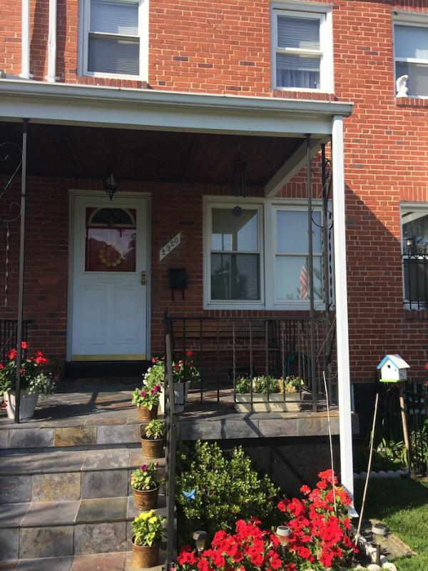 Front of house - Furnished 2Bd/1Ba Single Family House - Baltimore - rentals
