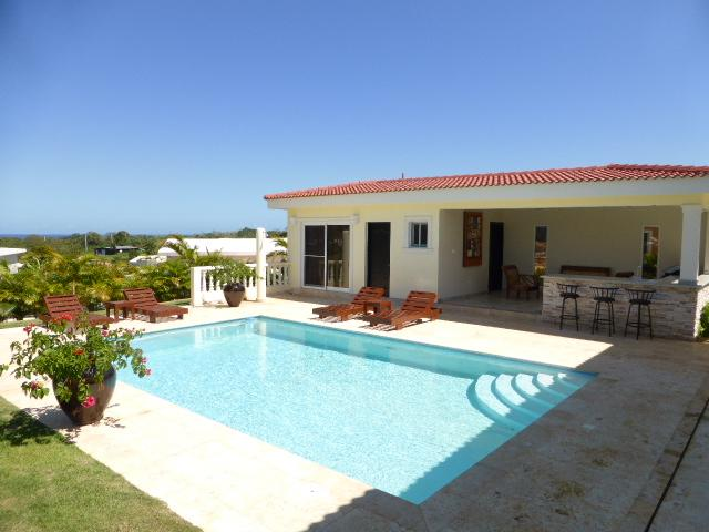 4 BDR Villa w/ OCEAN VIEW & PARTY AREA - Image 1 - Sosua - rentals