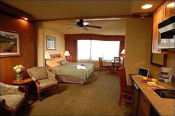 Studio Unit Includes a King Bed, Murphy Bed, and a Kitchenette (Representative Unit) - Charming Grand Lodge Studio Unit - Great for Couples Traveling Together (1081) - Crested Butte - rentals