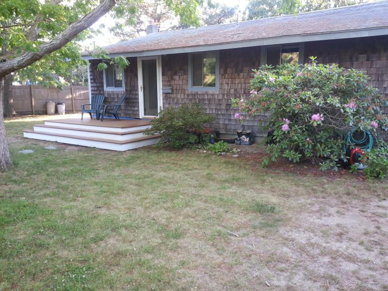 New front porch - Quiet and Private 3BR Cottage Easy Walk To Beach - Eastham - rentals