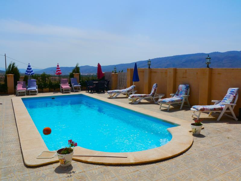 Casa Estrella's private pool - Casa Estrella - luxury, comfort and style. - Jumilla - rentals